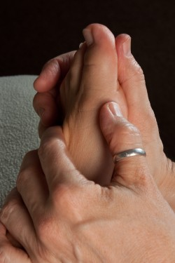 working the foot reflexes