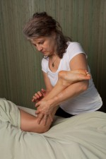 passive foot mobilization - vermont reflexology & massage